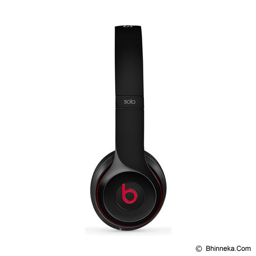 BEATS™ BY DRE™ Solo 2 On-Ear Headphone [MH8W2PA/A] - Black - Headphone Portable